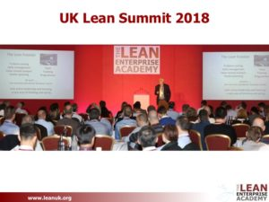 UK Lean Summit 2018