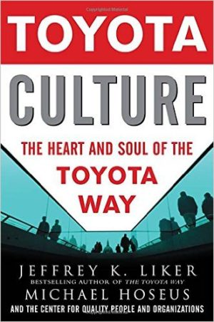Toyota Culture Jeffery K liker and Michael Hoseus 9780071492171