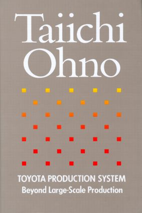 Toyota Production System Beyond Large Scale Production by Taiichi Ohno 978-0915299140