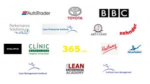 Company Logos UK Lean Summit 2016
