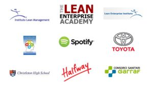 UK Lean Summit 2015 Lean Transformation Developing the Capability to Improve the Work Logo