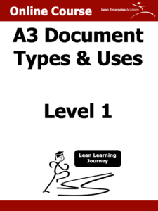 A3 document types and uses cover